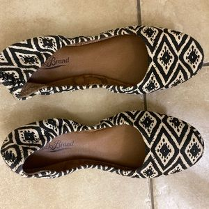 Lucky Brand Size 8 Ballet Leather Flats Southwest